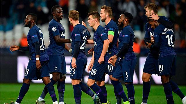 Nueva goleada del Tottenham al Estrella Roja