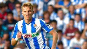 Odegaard estará disponible para jugar contra el Madrid