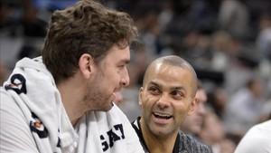 Parker dejará de ser compañero de Pau Gasol en los Spurs