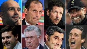 Pep Guardiola lidera la clasificación de entrenadores más reputados