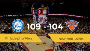 Philadelphia 76ers se impone por 109-104 frente a New York Knicks