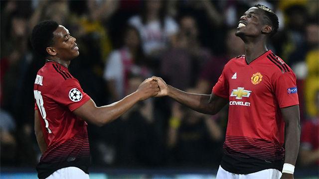 Pogba devuelve las buenas sensaciones del United en Europa
