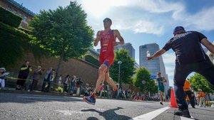 presencia destacada del triatleta internacional Fernando Alarza