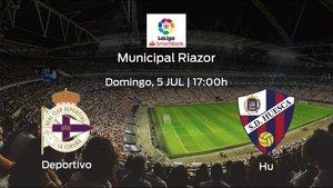 Previa del encuentro: el Deportivo recibe en su feudo al Huesca