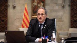 Quim Torra apoya formalmente la candidatura Pirineos-Barcelona a JJOO de Invierno de 2030