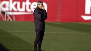 Quique Setién, nuevo técnico del FC Barcelona