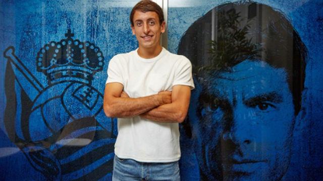 La Real Sociedad anuncia la renovación de Oyarzabal