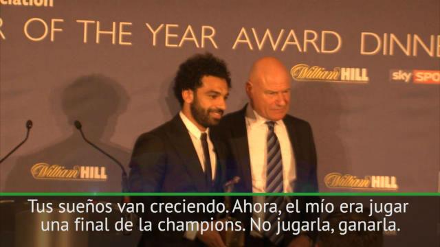 Salah: Todo el mundo espera que gane el Madrid, pero ya veremos