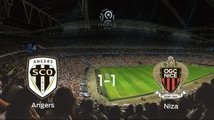 El SCO Angers y el OGC Niza solo suman un punto (1-1)