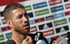 Sergio Ramos, baja en la selección