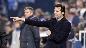 Solari no estaba satisfecho con la imagen del Madrid