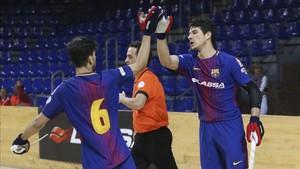 Tras su contundente triunfo europeo en Lisboa, el Barça defiende ahora su liderato en la OK Liga