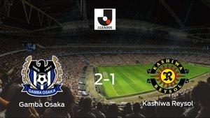 Tres puntos para el equipo local: Gamba Osaka 2-1 Kashiwa Reysol