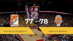 El Valencia Basket derrota al Monbus Obradoiro (77-78)