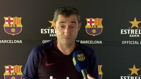 Valverde analiza a los nuevos fichajes del Barça