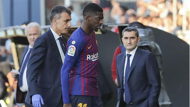 Valverde: ¿Dembélé? Esperamos que se involucre y se gane el puesto