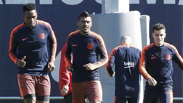 Valverde habló de la ausencia de Yerry Mina