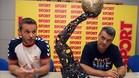 Víctor Tomás y Xavi Pascual trajeron la Copa de Europa a Sport