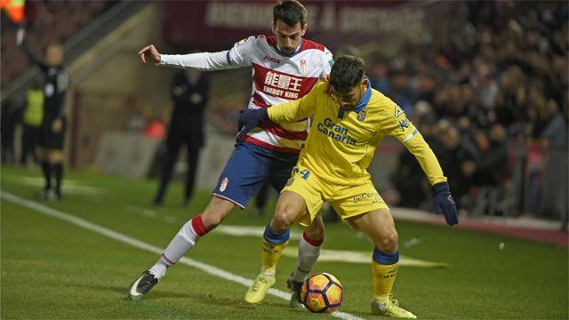 Vídeo Resumen Granada - Las Palmas (1-0). Jornada 21 de la Liga Santander 2016-17
