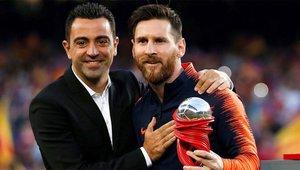 Xavi defendió a Leo Messi