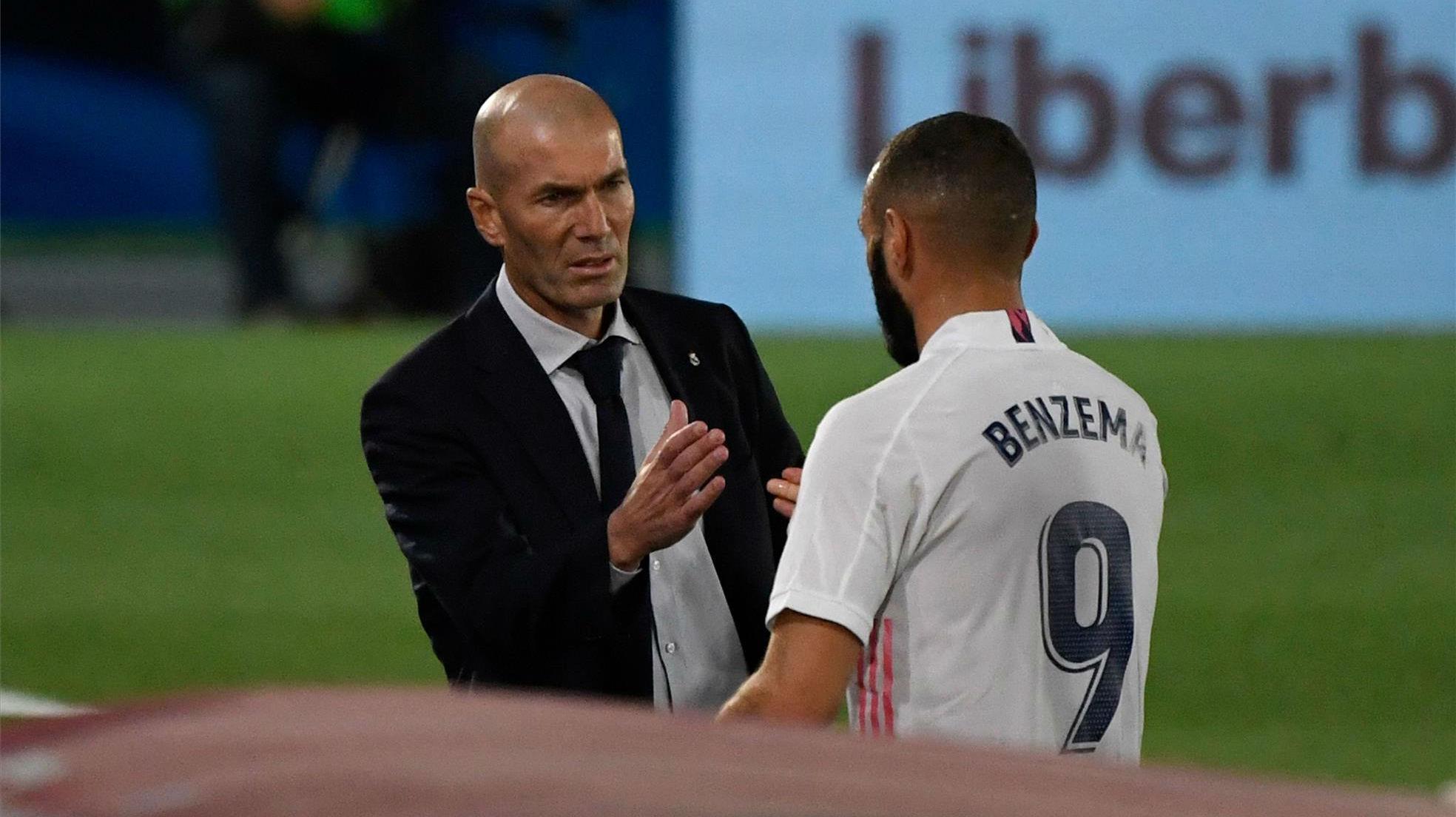 Zidane: Noto el apoyo de mis jugadores