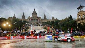 El WRC llega a Barcelona en plena lucha por el título
