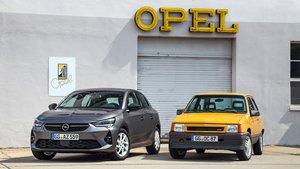 Nuevo Opel Corsa y Opel Corsa GT de 1987.