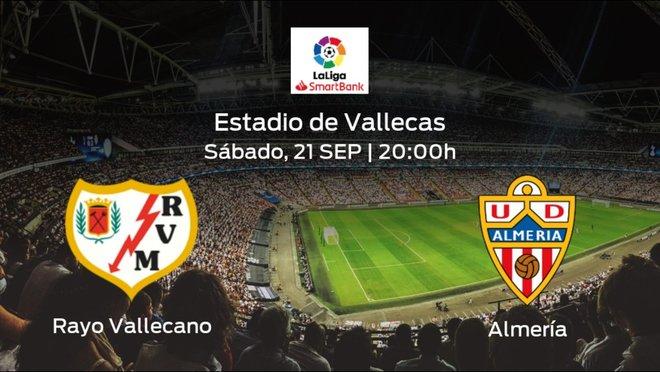 Jornada 7 de la Segunda División: previa del duelo Rayo Vallecano - Almería
