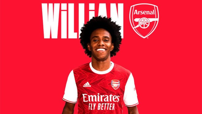 Oficial: Willian ya es del Arsenal