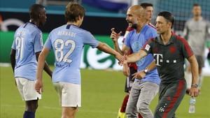 Adrià Bernabé ya participó en la gira norteamericana del Manchester City en verano