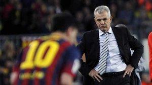 Aguirre ya sufrió a Leo Messi la 13-14 dirigiendo al Espanyol