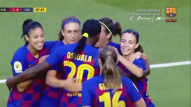 Alexia marca el primer gol de la temporada