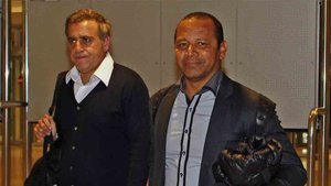 André Cury y el padre de Neymar estuvieron en Londres