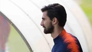 André Gomes, centrocampista portugués del Barcelona