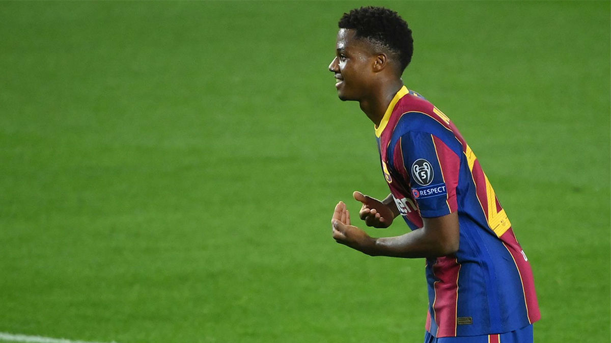 Ansu Fati cumple 18 superando a Messi, Mbappé y Haaland