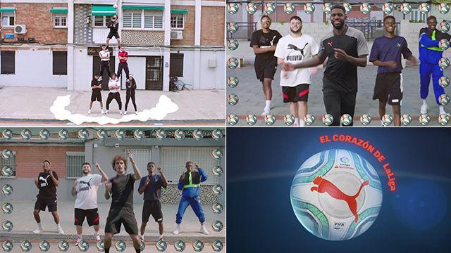 El anuncio del morbo: Griezmann, Suárez y Umtiti presentan el nuevo balón de LaLiga