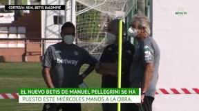Arranca el Betis de Manuel Pellegrini