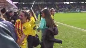 Así han celebrado la Supercopa las jugadoras del Barça