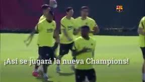 Así se jugará la Champions
