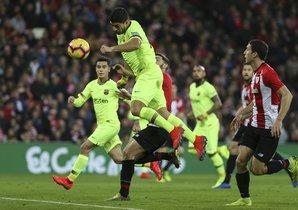 Athletic Bilbao, 0 - FC. Barcelona, 0