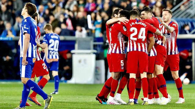 El Atlético sonríe en Mendizorroza