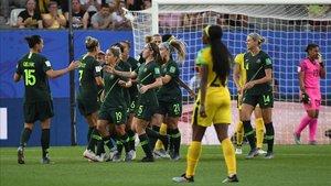 Australia logró una cómoda victoria.