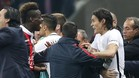 Balotelli sorprendió apoyando a Cavani