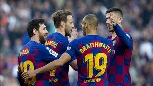 El Barça se la juega hoy en el Camp Nou