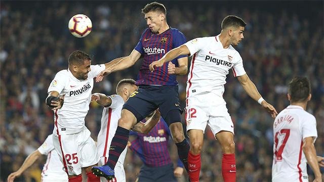 El Barça venció al Sevilla en un partido marcador por la lesión de Leo Messi