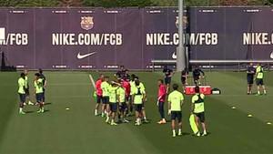 El Barcelona se ha entrenado en la Ciutat Esportiva antes de viajar a Gran Canaria