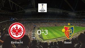 El Basel golea 0-3 al Eintracht Frankfurt y da un gran paso hacia los cuartos de final de la Europa League