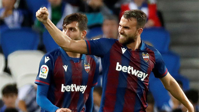 Borja Mayoral marcó el empate a uno en Villarreal