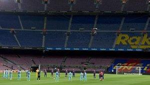 El Camp Nou, en el último partido de la temporada, volverá a guardar un minuto de silencio en memoria de las víctimas de la pandemia
