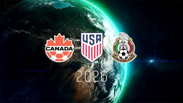 Canadá, EEUU y México presentan su candidatura conjunta para 2026